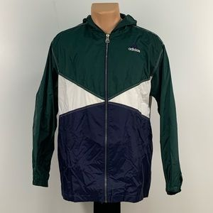 Vintage Adidas ColorBlock Windbreaker